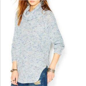 Free people • turtleneck chunky knit sweater xs